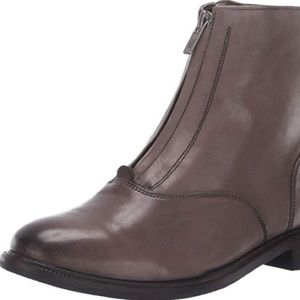Frye Kelly front zip boots